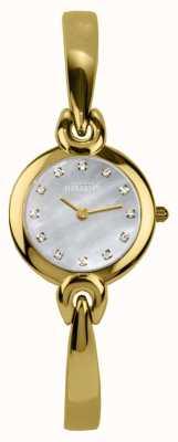 Michel Herbelin Madre de línea de perlas, pulsera dorado 17001/BP59