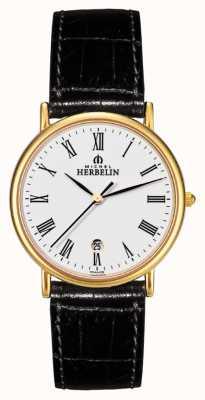 Michel Herbelin Caballeros citadines strapwatch cuero 12443/P01