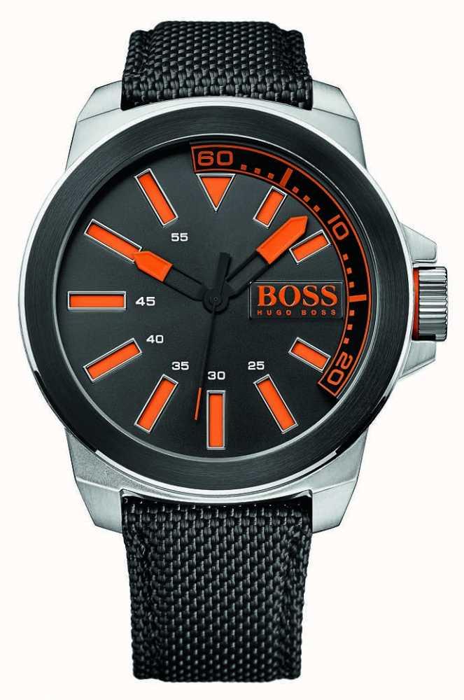 5c6d968c0985 Hugo Boss Orange Hombres De Acero Inoxidable