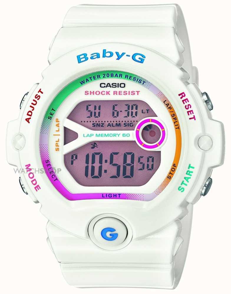 bd037d3dd4e2 Casio Mujeres Baby-G Digital En Blanco BG-6903-7CER - First Class ...