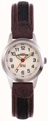 Timex Reloj indiglo del campo de la expedición de las señoras T41181