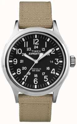 Timex Reloj para hombre negro expedición exploradora T49962