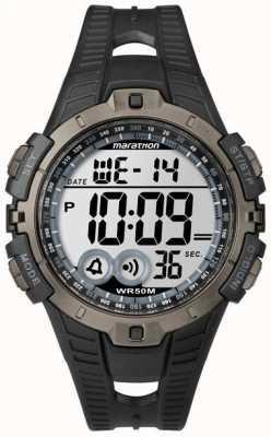 Timex Mens indiglo maratón alarma cronógrafo T5K802