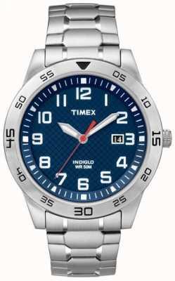 Timex Mens sin labrar manera de acero inoxidable TW2P61500