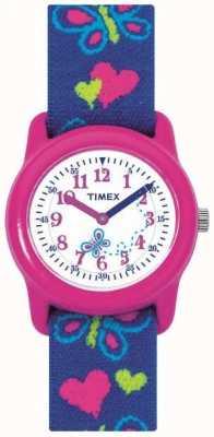 Timex Reloj de la correa de la mariposa de los niños de los niños T89001