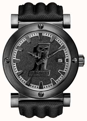 Harley Davidson Reloj para hombre negro etiqueta 78B131