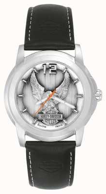 Harley Davidson Reloj águila Negro 76A12