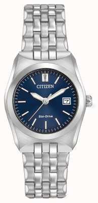 Citizen Mujeres eco drive Corso WR100 esfera azul oscuro EW2290-54L