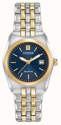 Citizen Señoras eco-drive corso WR100 dos tonos EW2294-53L