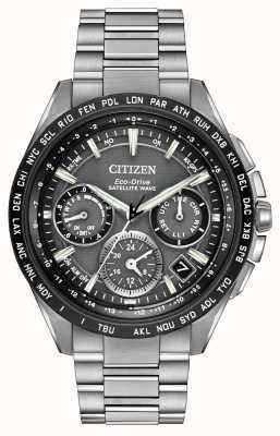 Citizen Mens F900 gps ola satélite crono CC9015-71E