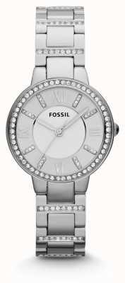 Fossil de acero inoxidable para mujer de Virginia ES3282