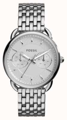 Fossil Señoras medida de acero inoxidable ES3712