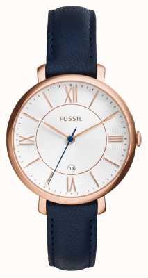 Fossil Para mujer Jacqueline rosa de cuero PVD oro ES3843