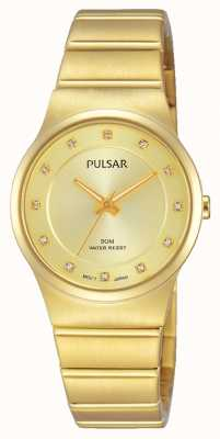 Pulsar Señoras pvd oro plateado PH8170X1