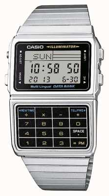 Casio Reloj calculadora caballeros colección retro DBC-611E-1EF