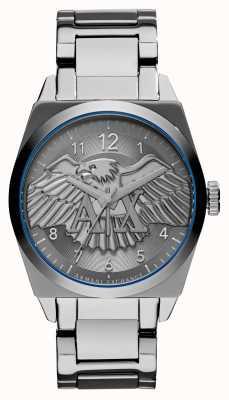 Armani Exchange Reloj de hombre de acero inoxidable inteligente jackson AX2310