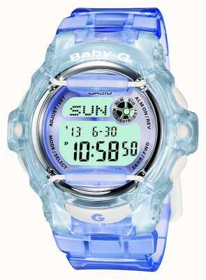 Casio Baby-g lila / azul para mujer del reloj digital BG-169R-6ER
