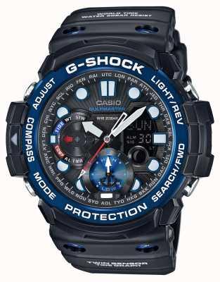 Casio G-choque cronógrafo alarma gulfmaster GN-1000B-1AER