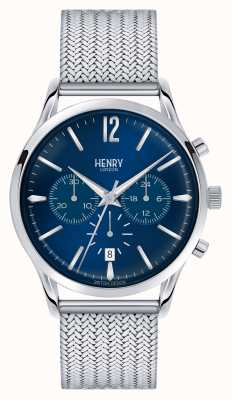 Henry London crono malla de acero inoxidable Knightsbridge HL41-CM-0037