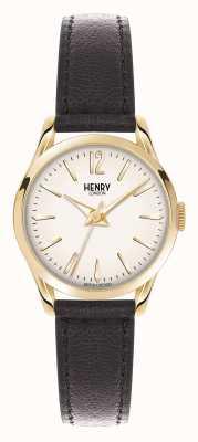 Henry London Westminster marrón correa de cuero champán HL25-S-0002