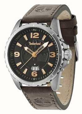 Timberland Caballeros walden correa de cuero marrón 14531JS/02