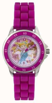 Disney Princess Tres princesas childrens reloj púrpura PN1078