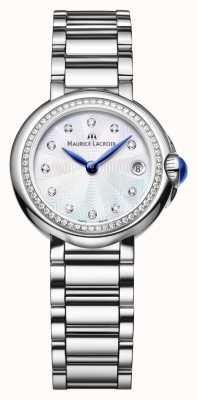 Maurice Lacroix Señoras fiaba 28mm diamante conjunto madre de la perla FA1003-SD502-170-1