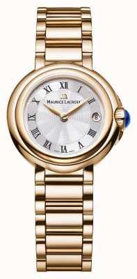 Maurice Lacroix Señoras fiaba 28mm fecha oro tono FA1003-PVP06-110-1