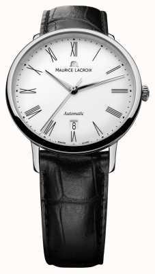 Maurice Lacroix Mens les classiques fecha de negro automática LC6067-SS001-110-1