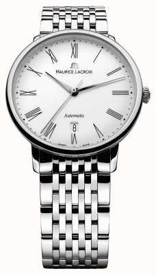 Maurice Lacroix Les classiques tradición de acero caballeros LC6067-SS002-110-1