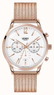 Henry London Unisex richmond rosa plateado pvd oro HL39-CM-0034