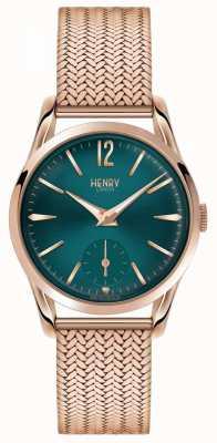 Henry London Stratford para mujer rosa plateado pvd oro HL30-UM-0130