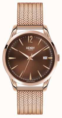 Henry London Grada Unisex rosa plateado pvd oro HL39-M-0050