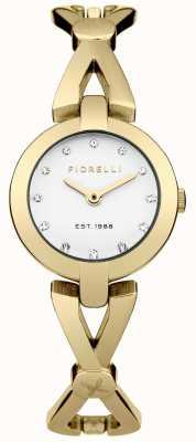 Fiorelli Mujeres pvd oro plateado esfera de plata FO003GM