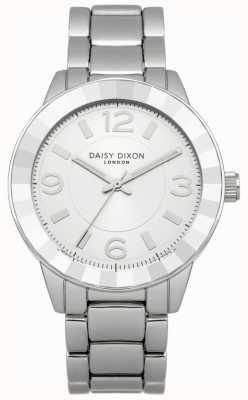Daisy Dixon Womens esfera de plata pulsera de acero inoxidable DD014SM