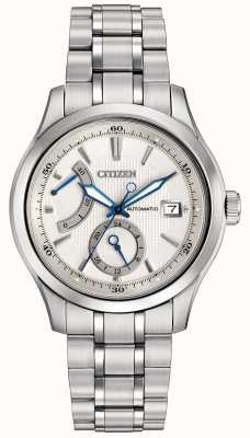 Citizen Automático grand classic mens acero inoxidable NB3010-52A