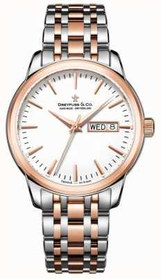 Dreyfuss Utilitaria del reloj para hombre 1890 DGB00127/02