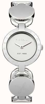 Fiorelli Womens esfera de plata pulsera de plata FO001SM