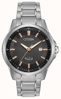 Citizen Gents WR100 titanio-Eco Drive AW1490-50E