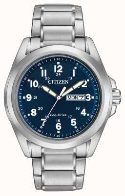 Citizen Brazalete deportivo ecológico azul marca Gets AW0050-58L