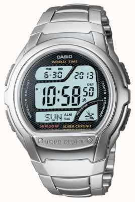 Casio Waveceptor radio control cronógrafo alarma WV-58DU-1AVES