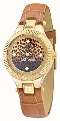 Just Cavalli Sólo indie amarillento 36mm esfera de color negro R7251215502