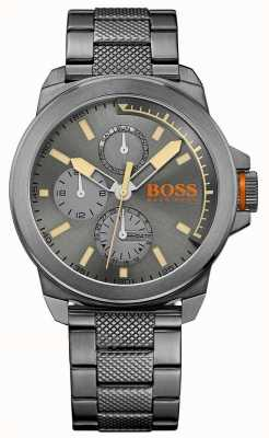 Hugo Boss Orange Mens NewYork acero ip gris 1513319