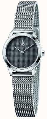 Calvin Klein Para mujer esfera gris mínimo K3M2312X