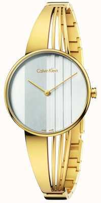Calvin Klein Oro de las mujeres de deriva K6S2N516
