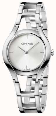 Calvin Klein plata de mujer de clase plateado K6R23126