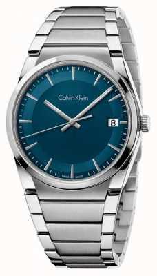 Calvin Klein línea verde azulado paso para hombre K6K3114L