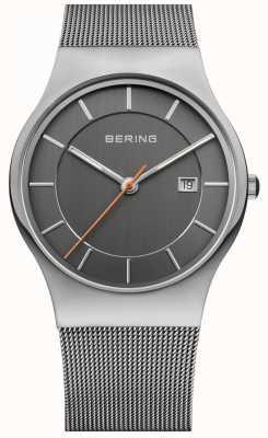 Bering Para hombre de línea gris de la correa 11938-007
