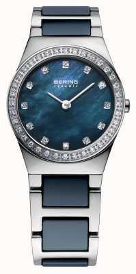 Bering Para mujer de acero inoxidable marino 32426-707