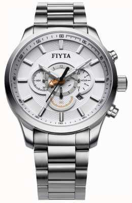 FIYTA reloj cronógrafo de acero inoxidable G788.WWW